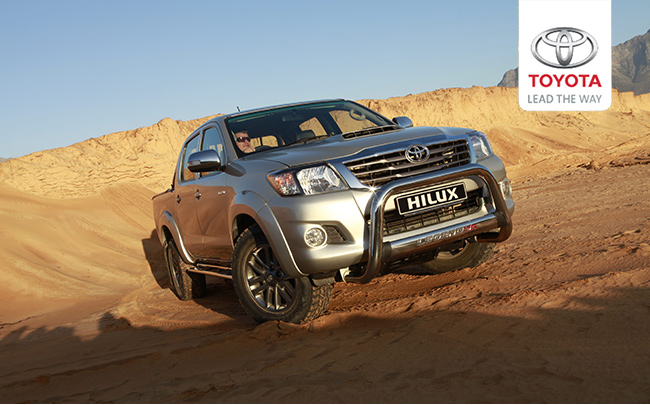 Hilux in Cape Town-South Africa