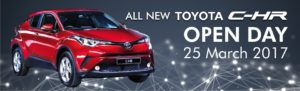 All New Toyota C-HR Open Day