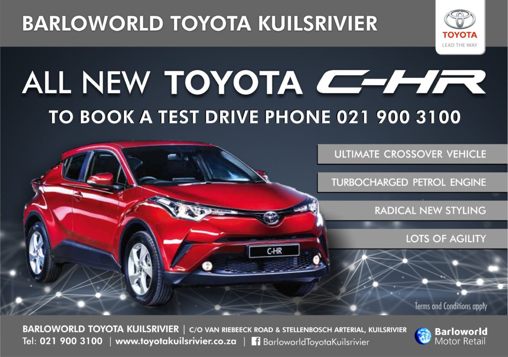 All new Toyota C-HR - Book a test drive